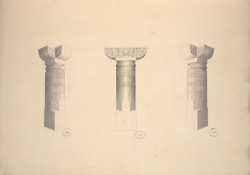 Cave 1, Details of Pillars f.30